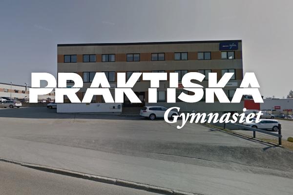 Logga Praktiska Gymnasiet Örnsköldsvik