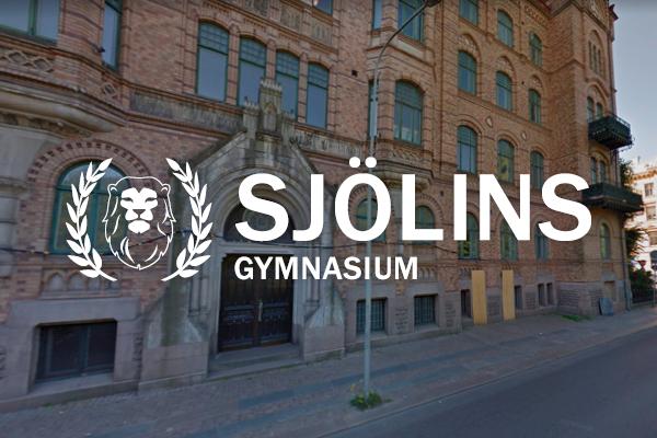 Logga Sjölins Gymnasium Göteborg