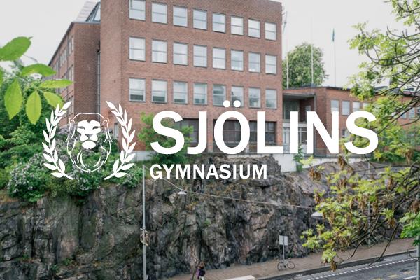 Logga Sjölins Gymnasium Stockholm Södermalm