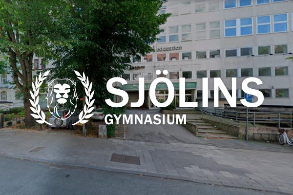 Logga Sjölins Gymnasium Stockholm Vasastan